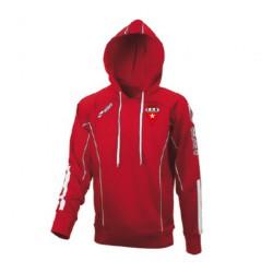 Sweat Capuche RELAX Rouge + Logo Club