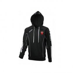 Sweat Capuche RELAX Noir + Logo Club